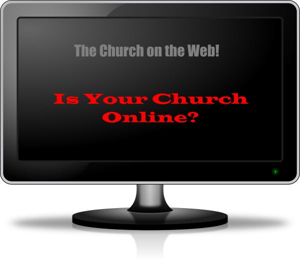 Image of Computer Screen - Is Your Church Online